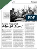 Ketika Muslimah Memilih Suami