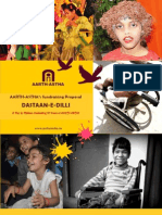 "Proposal for Support in Staging ""DASTAAN-E-DILLI"" - A Musical Play by Children Celebrating 20 Years of AARTH-ASTHA"