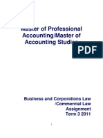 Ibrar Assigment Business Law