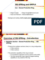 4-Fiber MSP Ring Protection