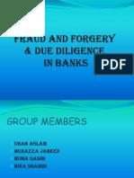 FRAUD n Due Deligence in Banks Final