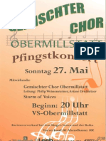 Pfingstkonzert 2012 GemChOM