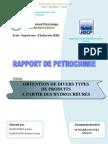 Obtention de divers types de produits à partir des hydrocarbures