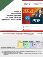 Open-E DSS V6 Asynchronous Data Replication Over a LAN