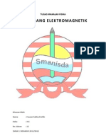 TUGAS MAKALAH FISIKA - Gelombang Elektromagnetik