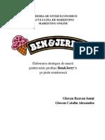 Elaborarea Strategiei de Marca Ben&Jerry's1