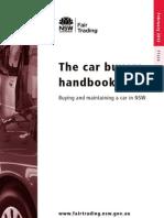 The Car Buyers Handbook