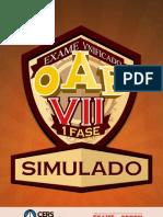 1 Simulado OAB 1F VII Exame
