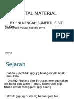 Dental Material