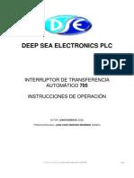 Dse705 Manual