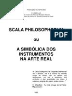 Scala Philosophorum - A Simbólica dos Instrumentos na Arte Real