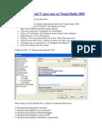 Configurar OpenCV Para Usar en Visual Studio