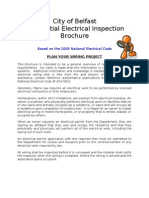 Residential Electrical Inspection Brochure