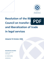 2008 Transfer of Skills and Liberalization of Trade in-legal Services