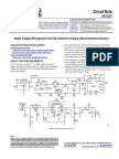 Single Supply Gas Toxic