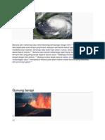 Bencana Alam Meteorologi Atau Hidrometeorologi Berhubungan Dengan Iklim