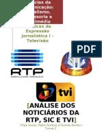 Análise telejornais