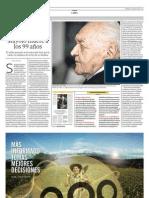 Santiago Antúnez de Mayolo muere a los 99 años