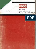 446 Operations Manual
