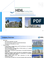 Q3 Analyst Presentation HDIL