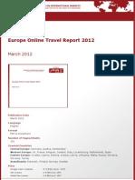 Brochure & Order Form_Europe Online Travel Report 2012_by yStats.com