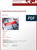 Brochure & Order Form_Global Online Gaming Report 2012_by yStats