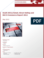 Brochure & Order Form_South Africa Retail, Direct-Selling and B2C E-Commerce Report 2012_by yStats