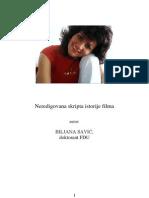 Biljana Savić - Istorija filma