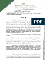 Ação Civil de Improbidade Administrativa  Micarla Sousa