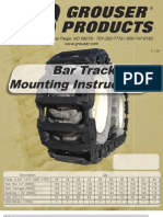 SkidSteer Track Installation Instructions