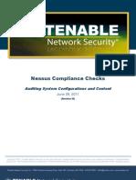 Nessus Compliance Checks