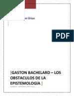 GASTÓN BACHELARD - LIDA BRAVO