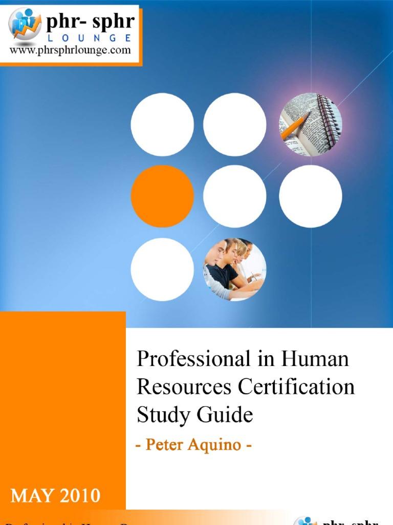 Study Guide Performance Appraisal Human Resource Management