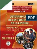 Pronafcap 2009 Terminacion e Los Propositos de Lectura II