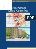 Opening Access to Scenario Planning Tools