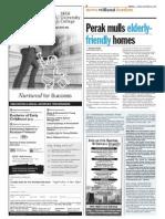 TheSun 2008-12-26 Page08 Perak Mulls Elderly-friendly Homes