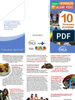 Folder Dez Dicas 2011