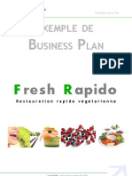 Business Plan Exemple Freshrapido