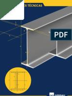 GERDAU - PERFIS METÁLICOS - Catálogo Técnico Perfis Estruturais - 6 pag