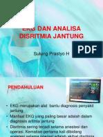 Ekg Dan Analisa Disritmia Jantung