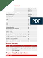 Estatísticas da varredura 04_05_2012