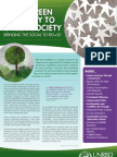 From Green Economy to Green Society