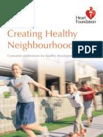 Creating Healthy Neighbour Hoods