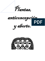 Plantas, anticoncepción y aborto