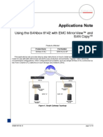 App Note 6142 Using 6142 WithEMC Mirror View and SANCopy