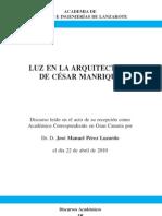 La luz en la obra de César Manrique