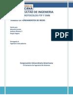 Protocolos Ftp y Smb