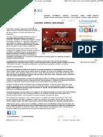 25-05-12 Presentan propuestas en educación, ciencia y tecnología