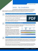 Long Term Data Retention Key Considerations