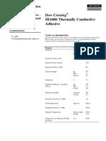 Dow Corning - Thermal Adhesive CV 4486